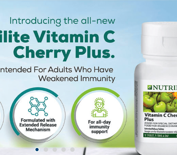 Amway Nutrilite Vitamin C Cherry Plus 2021 Details and Benefits in Hindi